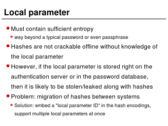 """Smartest Details for the Perfect Password Hashing"""